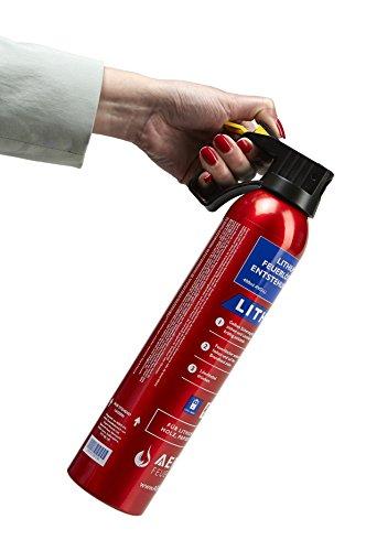 MedX5 AVD Feuerlöscher für A, E, und Li-IONEN-AKKU Brände, Lithium-Ionen-Akku 400 ml...