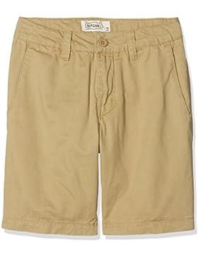 Rip Curl de los niños Basic Chino–Pantalón Corto, Infantil, KWACD4, Sponge, Talla 12