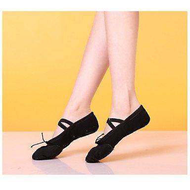 Silence @ Femme/Homme/enfants Chaussures de danse du ventre/ballet/latine/Jazz/danse Sneakers/moderne noir