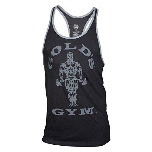Golds Gym Tank Top Muscle Joe Contrast Stringer Tank black/arctic