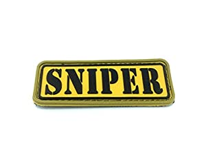 Sniper Airsoft Moral Patch en PVC