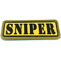 Sniper Airsoft Velcro PVC Parche