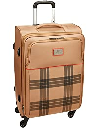 231236515a Tommy Hilfiger Dazzle Lite Ultra Polyester 57 cms Brown Soft Sided Carry-On  (8903496090406
