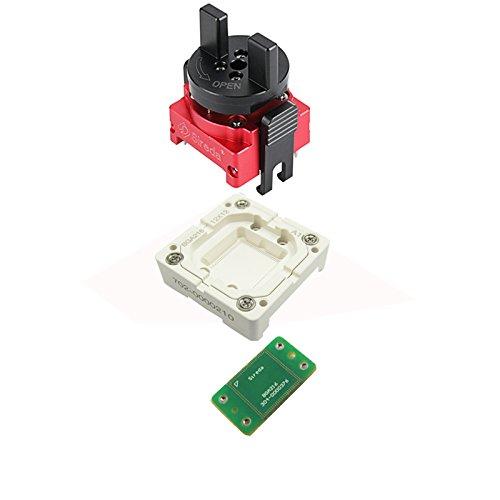 bga216(LPDDR3) Sockel F Lösung 12x 12mm picth 0,4mm Premium, LPDDR2/LPDDR3Test Sockel, Mobile Speicher Test Adapter
