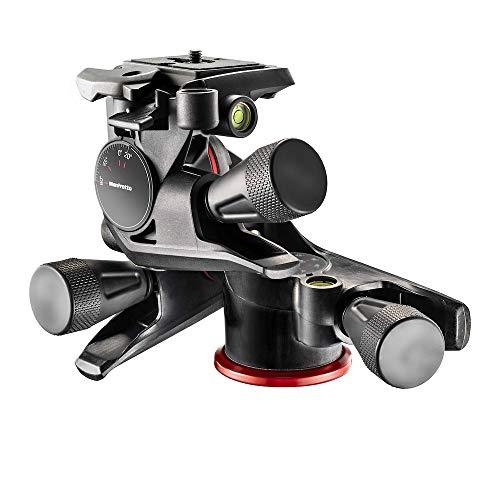 Oferta de Manfrotto Rótula de 3 Ejes XPRO, Cabezal para Trípode con 3 Ejes de Movimiento de Alta Precisión para Equipamiento de Fotogradía y Cámara, Creación de Contenidos, Vlogging