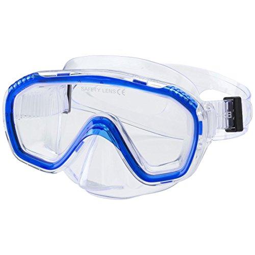 Tecnopro Cancun Tauchmaske, Blau, One Size