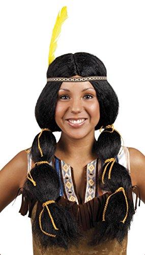 Boland 86394 Erwachsenenperücke Wynona mit Haarband, One Size