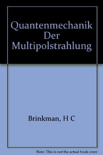 Zur Quantenmechanik Der Multipolstrahlung