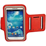 Outstanding Value Slim Fit Red Running cubierta de la caja del brazal para i9500 Samsung Galaxy S4 SIV
