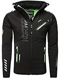 Geographical Norway - Blouson coupe vent Geographical Norway Blouson homme Rivoli noir - Noir