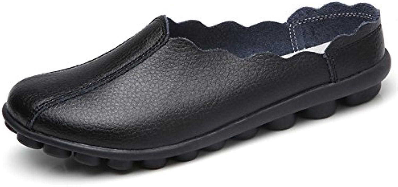 des mocassins en cuir dadaze feuillet occasionnels dos chaussons, dos occasionnels nu b07ds8yd2d plongée mules à bout fermé parents des chaussures 086c22