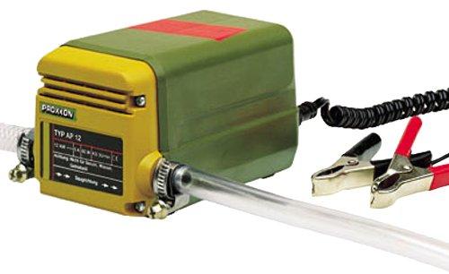 Proxxon AP 12 Ölabsaugpumpe, selbstansaugende Ölpumpe für Motorenöl, Diesel, Heizöl, inkl. Saug- und Ablassschlauch, - Amazon-pumpen