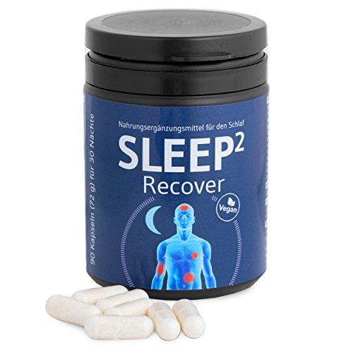 SLEEP² Recover von Third of Life - 100% veganes Nahrungsergänzungsmittel, fördert einen guten regenerativen Schlaf, zur täglichen Einnahme geeignet - 90 Kapseln für 30 erholsame Nächte