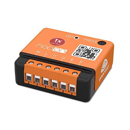 NodOn SIN-2-1-01 Module encastré EnOcean 1 canal contact sec, 2300 W, Orange