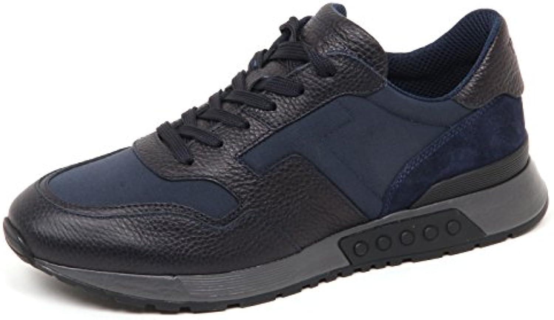 E5148 Sneaker uomo Blu Tod's Active Sportivo Scarpe Shoe Man -