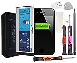 Trop Saint® Akku für iPhone 4-1420mAh/3,8V mit Werkzeug und Sticker