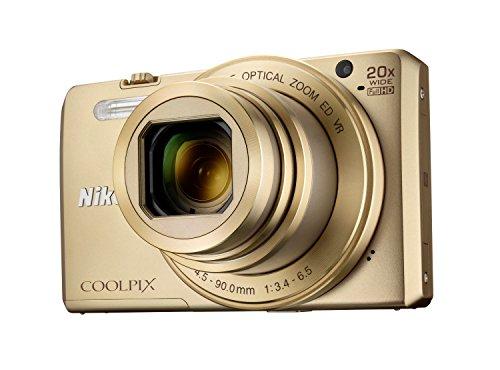 Nikon Coolpix S7000 Digitalkamera (16 Megapixel, 20-fach opt. Zoom, 7,6 cm (3 Zoll) LCD-Display, USB 2.0, bildstabilisiert) gold - 6