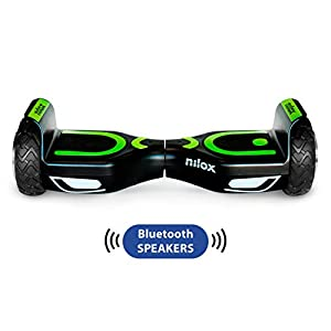 41snA94gP9L. SS300 Nilox Doc 2 Hoverboard Plus, Unisex Adulto