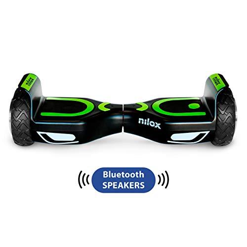 Nilox Doc 2 Hoverboard Plus, Unisex Adulto, Nero, Taglia U