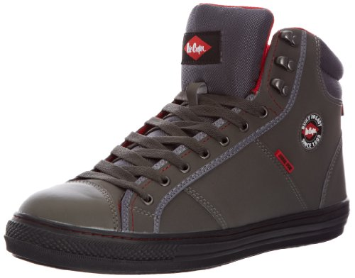 Lee Cooper Workwear Sb Boot, Chaussures de sécurité Adulte Mixte Gris (gray)