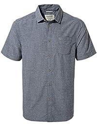 Craghoppers Broni Short Sleeved Camisa, Hombre