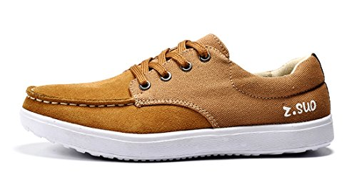 TDA , Espadrilles homme Yellow Brown