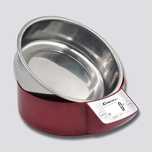 Zhangyuge digital bilancia da cucina elettronico scala alimentare in acciaio inossidabile tipo di pentola di cottura domestico di alta precisione peso bilancia digitale