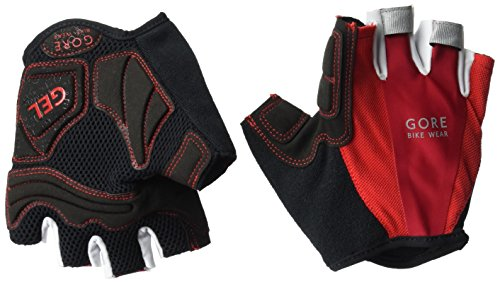 GORE WEAR Herren Oxygen COOL Handschuhe, Black/Red, 6 Coole Handschuhe