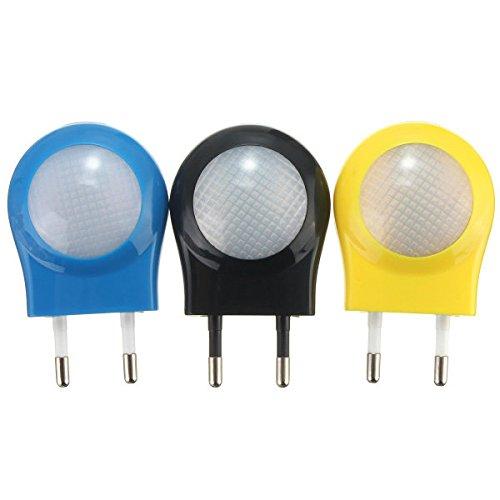 Bazaar Mini-LED capteur automatique de contrôle de la lumière la nuit de 0.7w Branchez l'UE pour la lampe de la chambre de bébé