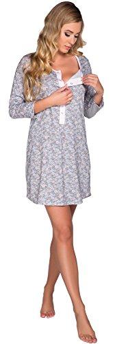 Italian Fashion IF Camicie da Notte per Allattamento Juka 0111 Rosa