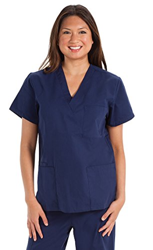 ncd-medical-tunique-manches-courtes-marine-taille-m