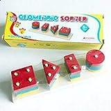 لعبة تعلم الاشكال الهندسية الخشب للاطفال