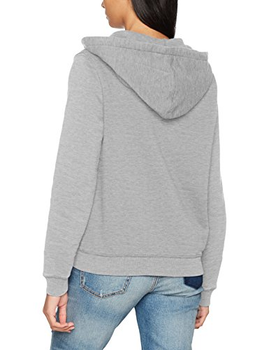 Pepe Jeans London Damen Kapuzenjacke Zip Thru Ladies Grau (Grey Marl)