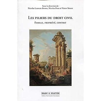 Les piliers du droit civil: Famille, propriété, contrat.