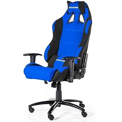 AKRacing Prime – AK-7018-BL – Silla Gaming, Color Negro/Azul