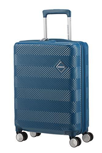 American Tourister Flylife Bagaglio a mano S (55cm - 46l), Blu (PetroL, Blue)