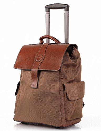 Oxford Material Kann Schulter zurück sein Kann Trolley Tasche ziehen Reisetasche Hochleistungsgepäck Tasche ( Farbe : 3 , größe : 22 inchs ) 4