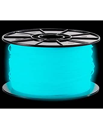 3D FreeSculpt - Bobine de fil plastique ABS - Bleu phosphorescent