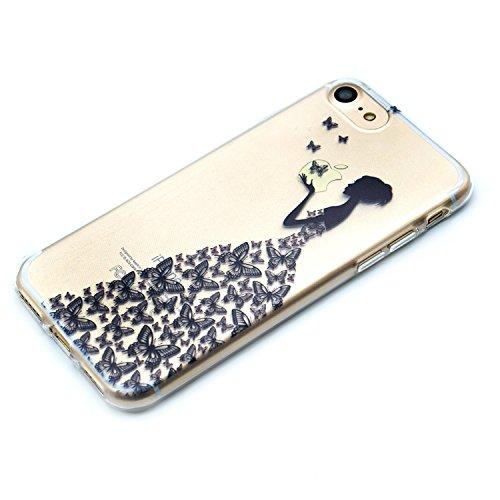 Custodia iPhone 6 Plus Spiritsun Apple 6 Plus iPhone 6S Plus Cover TPU Moda Elegante Case Cover Morbido Silicone Case Protezione Bumper Funzione Copertura Shell Per iPhone 6 Plus/6S Plus£¨5.5 pollici£ Principessa