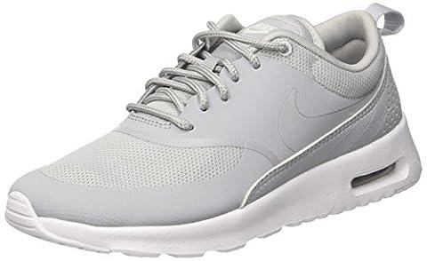 Nike Damen Wmns Air Max Thea Laufschuhe, Grau (Wolf Grey/Wolf Grey/White), 38.5 EU