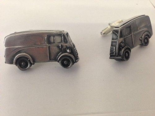 AUSTIN 101 Van 3D Boutons de manchette Boutons de manchette voiture classique effet étain ref14