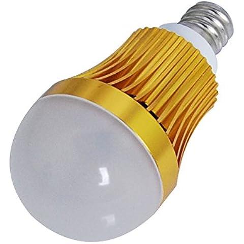 THG alta calidad 1x 3W de alta potencia de luz 100-240V pl¨¢stico c¨¢scara E12 Plug 210LM blanco c¨¢lido para la sala de cocina