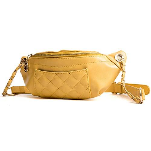 OKMPL Mode Gürteltasche Frauen Taille Gürteltaschen Gürteltasche Luxusmarke Leder Brust Handtasche Hochwertige Reisebrieftaschen Neu