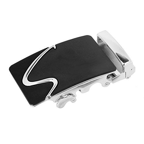 Gazechimp Hebilla de Cinturón de Trinquete Automático de Moda Accesorio de Reemplazo Regalo para Hombres de Aleación - # 14, 8x4cm