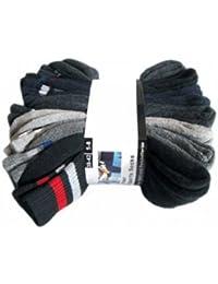 16 Paar Marken Sportsocken - in 7 Farben Verfügbar 39/42,Gemisch
