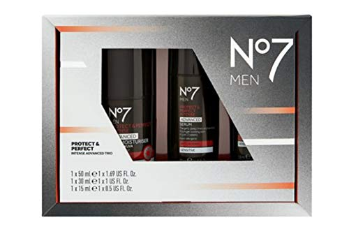 Boots No7 manucure cadeau pour hommes-hommes kit de toilettage / Boots No7 Manicure Gift Set for Men-Men Grooming Kit