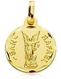 65d86792949 Alda Joyeros Medalla de Oro San Rafael 18 Ktes S. Personalizable