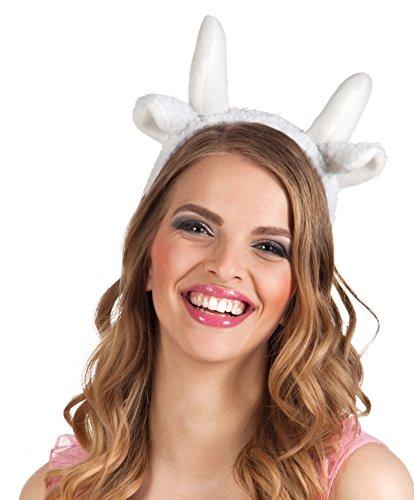 Boland 52361 - Haarreif Schaf, Einheitsgröߟe, (Kostüm Schaf Für Erwachsene)