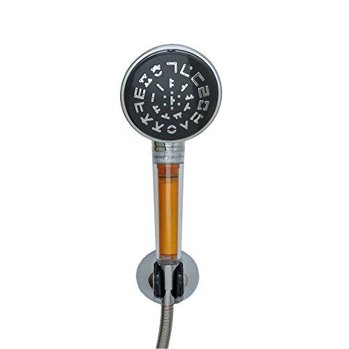 [K Duschkopf] SONAKI Vitamin C Duschkopf mit einem Filter - entfernt bis zu 99% aus Chlor und Chloraminen