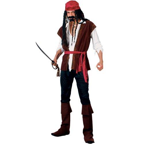 MENS WICKED CARIBBEAN PIRATE FANCY DRESS (Fancy Pirate Dress)